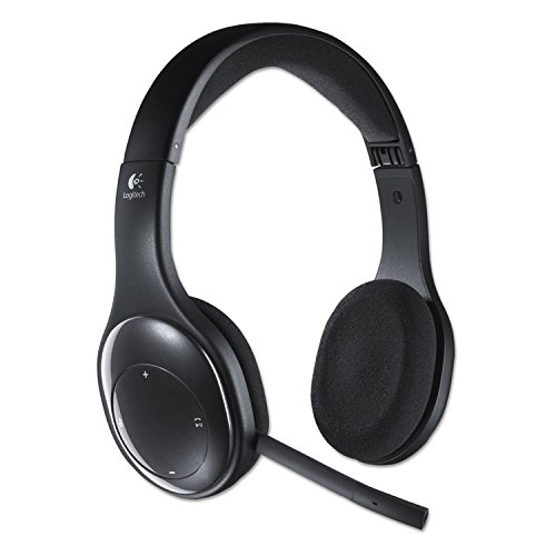 Logitech 981000337 H800 Binaural Over-the-Head Wireless Bluetooth Headset, 4 ft Range, Black by Logitech (Image #1)