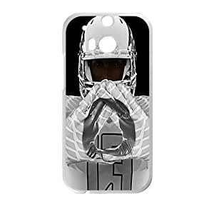 Happy The Robot Cell Phone Case for HTC One M8