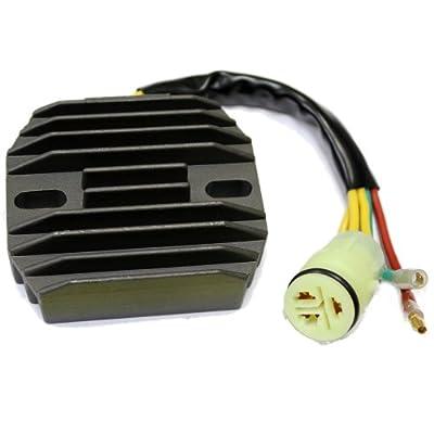 Caltric REGULATOR RECTIFIER Fits HONDA 300 EX TRX300EX SPORTRAX 300EX 2001-2006 New