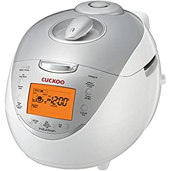 Cuckoo Electric Induction Heating Pressure Rice Cooker CRP-HV0667F (Silver)