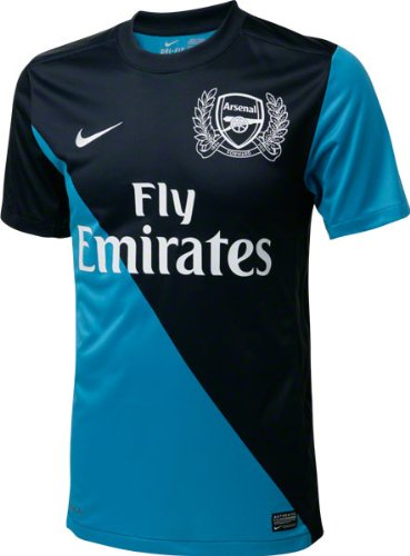 Amazon.com   Arsenal Nike Replica Away Jersey   Football Jerseys ... 00e0301d5