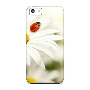 LJF phone case Excellent Design Daisy Friend Phone Case For Iphone 5c Premium Tpu Case