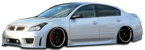 Duraflex Replacement for 2007-2012 Nissan Altima 4DR Sigma Side Skirts Rocker Panels - 2 - Body Sigma 4dr