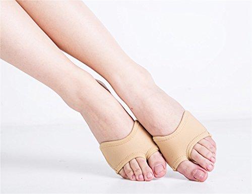 Womens Neoprene Half Sole Dance Paws Forefoot Pad Half Lyrical Shoes Nude AuOK7AapaP
