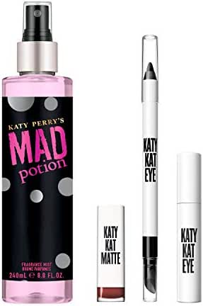 Katy Perry Covergirl + Get The Look Mad Potion 4 Piece Set