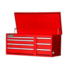 International WRT-4207RD 42-Inch 7 Drawer Top Chest, Red