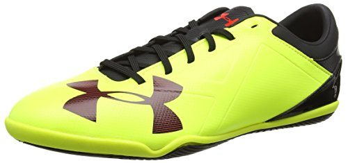 Under Armour Ua Spotlight In, Botas de Fútbol para Hombre Amarillo (High-vis Yellow 731)