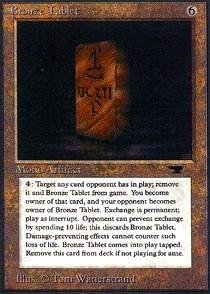 Magic: the Gathering - Bronze Tablet - Antiquities