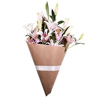 Flores Frescas Florachic - Lirios Rosas sin jarrón - flores enviadas directamente del campo a tu