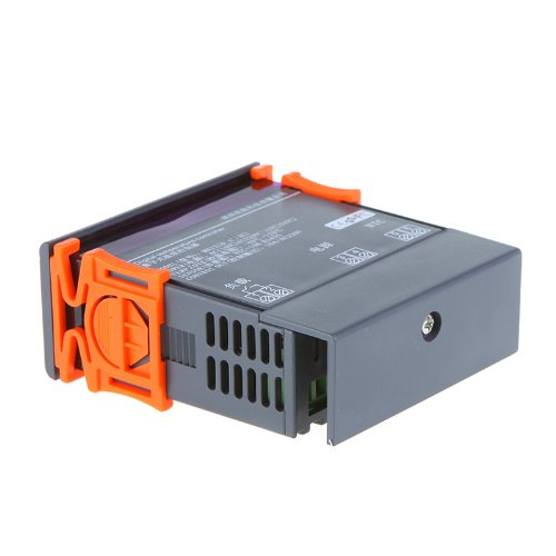 SODIAL(R) Termopar Controlador de Temperatura Digital 200-240V -40 ...