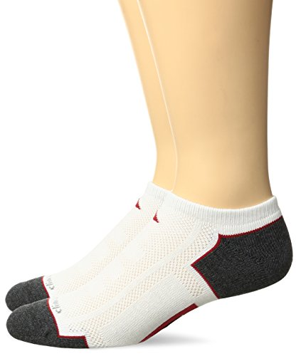 adidas Men's Climacool II No Show Sock (2-Pack)