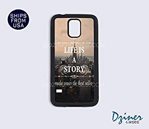 Galaxy S3 Case - Life Is a Story Quote