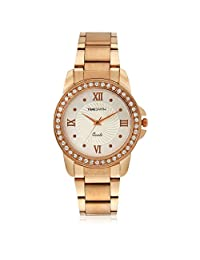 TimeSmith Limited Edition Analog Off-White Dial Women's Watch TSM-021