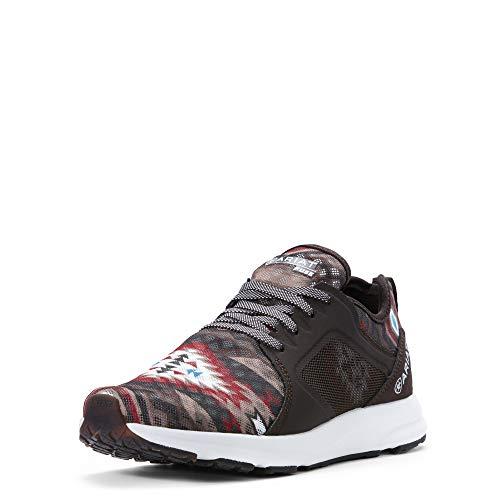 ARIAT Women's Fuse Sneaker (8 B US, Brown Aztec)