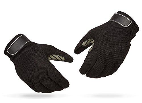 Raubfisch Handschuhe Anglerhandschuhe Schwarz L