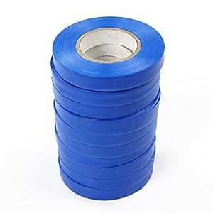 """yontree azul planta resistente elástico cinta para lazos de planta de excelente para flores/Vid/verduras, 0.43""""x 985"""""""