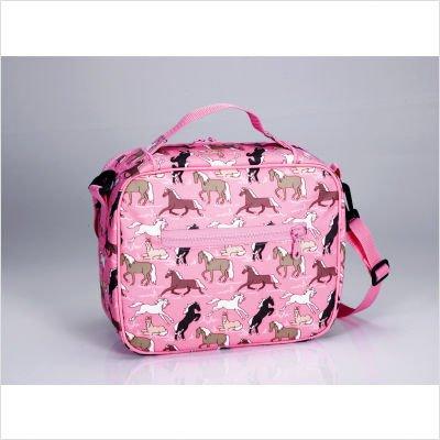 Wildkin Horses in Pink Lunch Bag - Horses in Pink