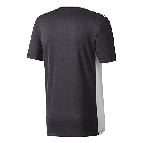 Black white Entrada shirt 18 Uomo T Adidas Fq6ZwO