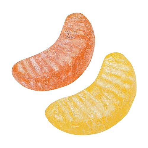 Vidal Gummi Citrus Slices - Orange & Lemon Gummy Candy, 2.2 Pounds