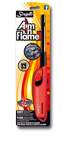 Scripto Multi Purpose Aim'n Flame II Lighter (Random Color)