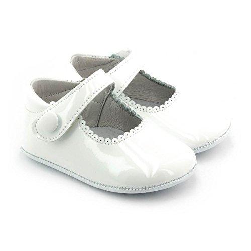 Boni Classic Shoes - Zapatillas de Estar Por Casa Niña blanco