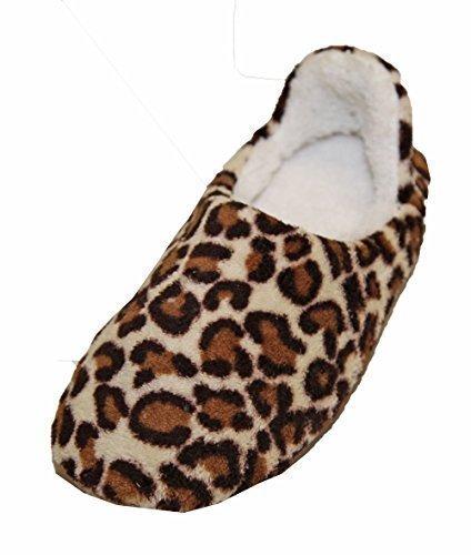 Chausson Pantoufle Mule Femme Confortable Imprimé Fourré Style Mouton!! IwbOFLaR