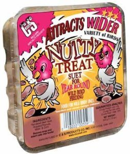 Suet Treat - C&S CS12559 11.75 Oz Nutty Treat Suet