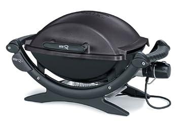 Weber Elektrogrill Q 140 : Weber elektrogrill q black line amazon garten