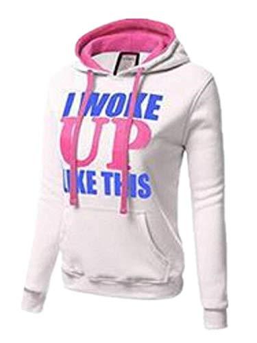 Hoodies Costume Con Digitale Caldo Manica Casual Fashion Hoodys Slim Sportivo Con Donna Invernali Felpe Cappuccio Con Fit Felpa Autunno Felpe Eleganti Stampato Lunga Coulisse Cappuccio zwdq6X6