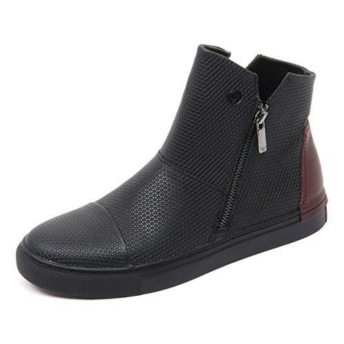 bordeaux AJ shoe bordeaux nero sneaker B8476 scarpa donna nero woman JEANS ARMANI 4PSqCyaw