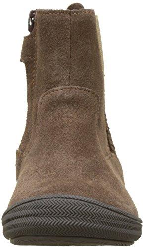Minibel Mädchen Nelia Chelsea Boots Marron (Vert Amande/Marron)