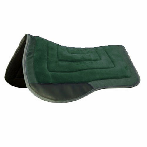 Intrepid International Western Saddle Pad, Hunter Green ()