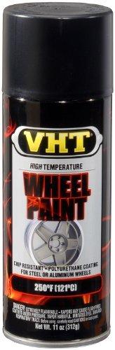 VHT SP183 Satin Black Wheel Paint Can - 11 oz. by VHT