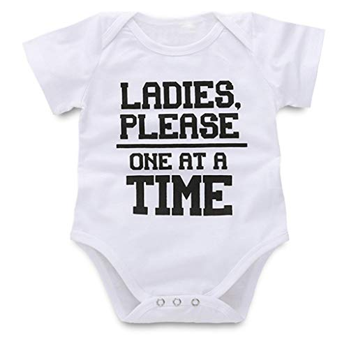 Baby Girl Boy Clothes Onesie Bodysuit Summer Romper Jumpsuit Outfits Pajama Clothes Yamally ()