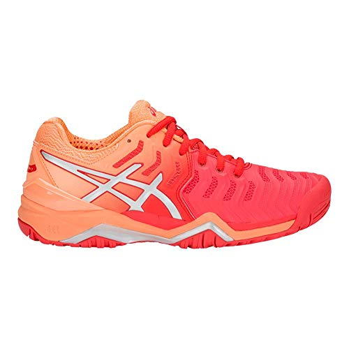 Red Donna Asics Asicswomens 7Womens silver Gel resolution Alert kZOTXiwPul