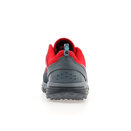Nike Dual Fusion Trail - Zapatos de Running, Hombre Grey Red