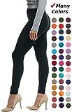 Lush Moda Extra Soft Leggings - Variety of Colors -Plus Size - Black