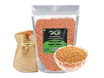 GreenFinity® Masoor Dal 5Kg   Premium Quality   Free Shipping.