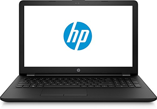 HP 15.6'' HD Notebook, Intel 8th Gen Core i5-8250U QC Processor, 12GB Memory, 2TB Hard Drive, Optical Drive, HD Webcam, 2 Year Warranty Care Pack- Jet Black by HP