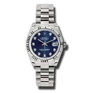 Rolex Datejust Blue Dial Women's Watch 178279