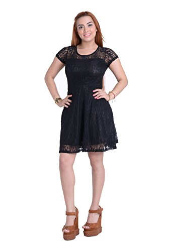 Buy black lace dress under 50 - 8