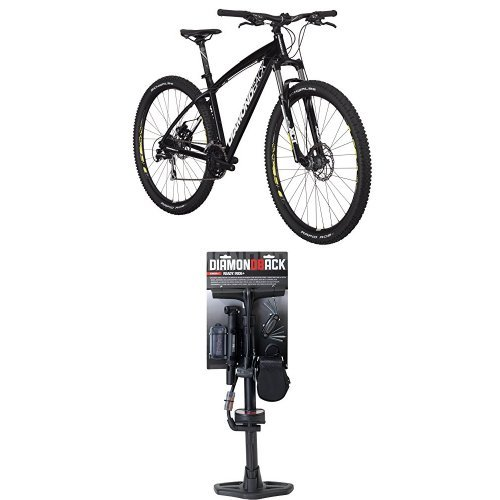 Diamondback Bicycles Overdrive 29er Complete READY RIDE Hardtail Mountain Bike, 20'/Large Black and Diamondback Bicycles Ready 2 Ride Plus Starter Kit