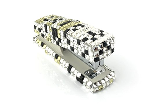 Blingustyle Bling Bling Iridescent Sparkly Square Swarovski Elements Crystal Stapler for Office/Home Gift by blingustyle