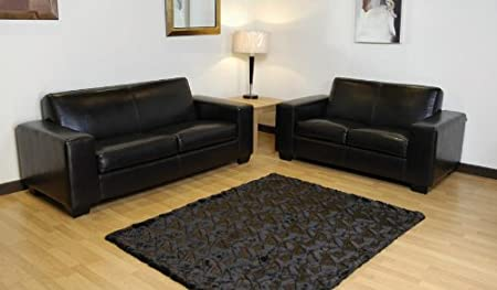 Superb Nevada Leather 2 3 Sofa Suite Set Settee Furniture Amazon Caraccident5 Cool Chair Designs And Ideas Caraccident5Info