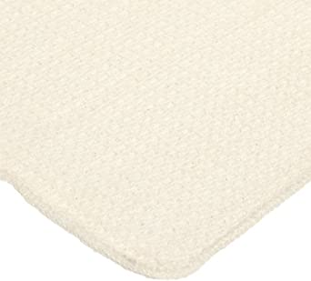 Chef Revival 700WT Cotton Waffle Weave Bar Towel, 18 by 18-Inch, Natural, Pack of 12