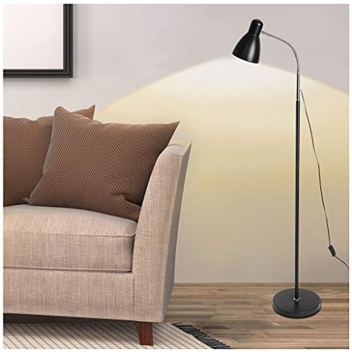 LED Floor Lamp | Super Bright Floor Lamp Light Daylight with Stand for Desk,Reading, Living -