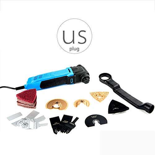 ustyle 110V/240V Electric Multifunction Oscillating Tool Kit Multi-Tool Power Tool Trimmer Saw Accessories
