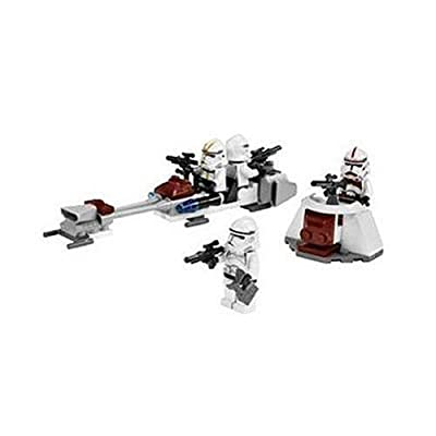 Lego Star Wars Clone Trooper Battle Pack 7655 by LEGO: Toys & Games