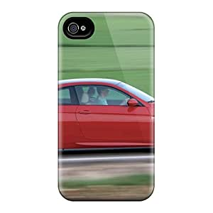 Premium Protection Red Bmw M3 Side View Case Cover For Iphone 4/4s- Retail Packaging