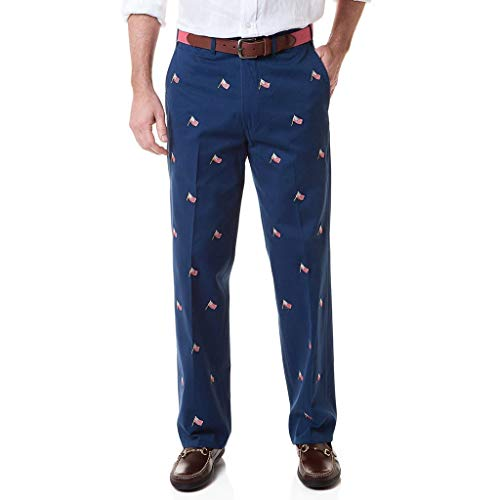 Castaway Clothing Harbor Pant with Embroidered USA ()